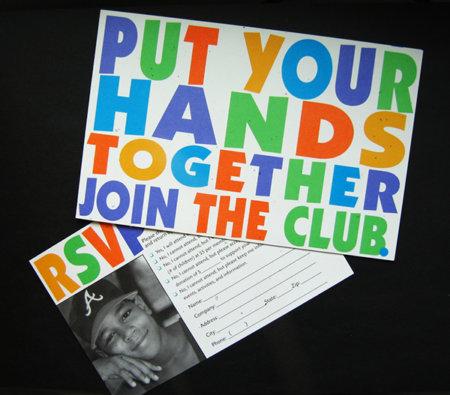 Boys & Girls Club Fundraising Event Invitation