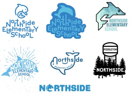 Northside Elementary School logos