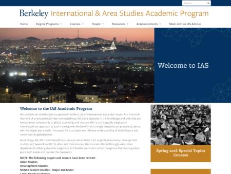 UC Berkeley IASTP