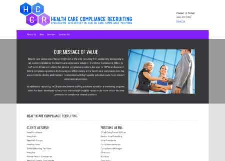 Healthcare Compliance Recruiting
