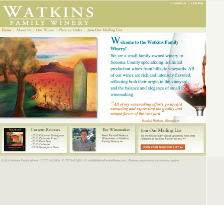 Watkins Family Winery