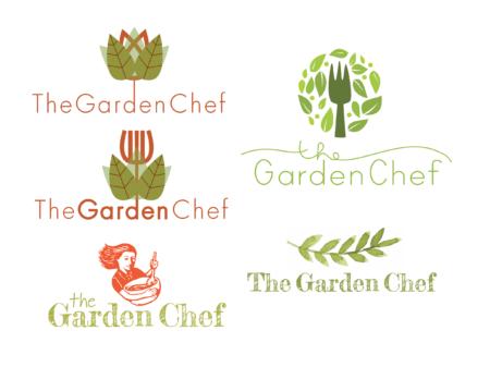 The Garden Chef logos