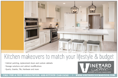 Vineyard Chic Kitchens ad